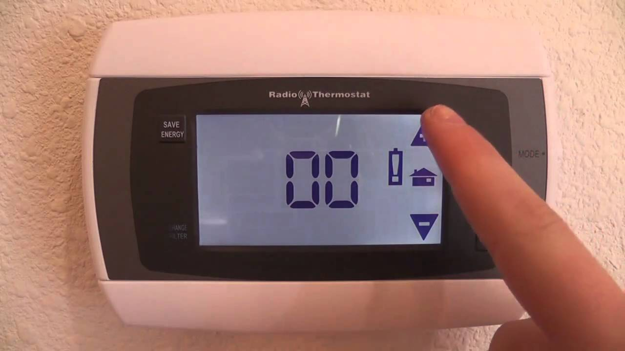 How To Do A Hard Reset Of A Programmable Thermostat