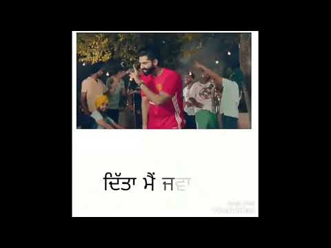 Yaari da wasta || ghaint song || Sharry Maan || Punjabi WhatsApp status video