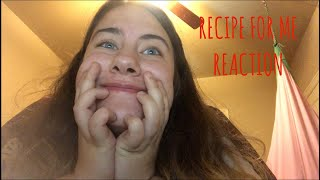 Reaction!  Thomas Sanders: Recipe for Me