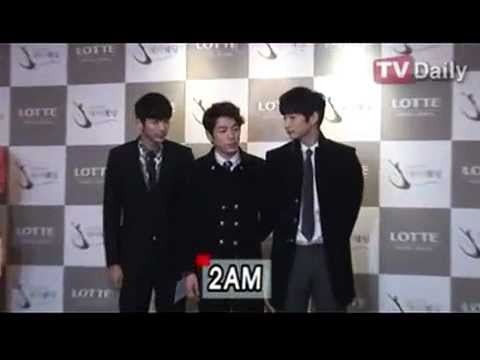 130126 2am baek ayeon sohee attend wg sunyes wedding tv