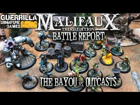 Malifaux 3E Battle Report - Ep 03 - The Bayou Vs. Outcasts