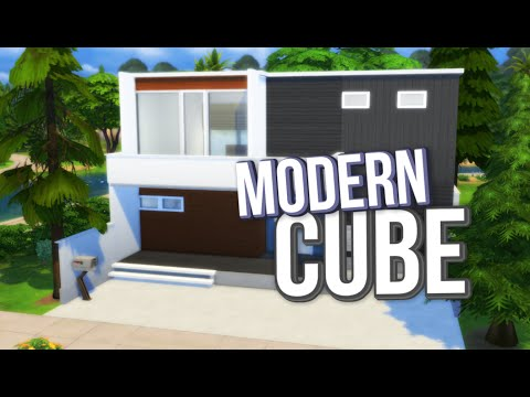 The Sims 4: Speed Build / Modern Cube House