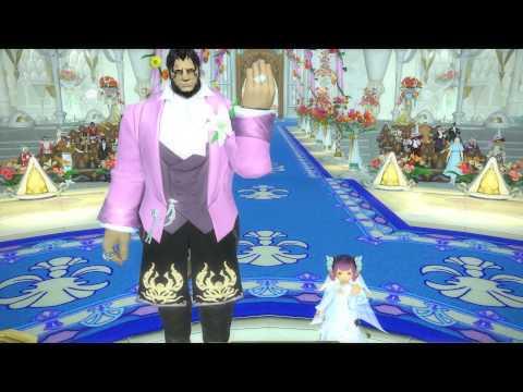 FFXIV Lalafell & Roegadyn Wedding?! O.O