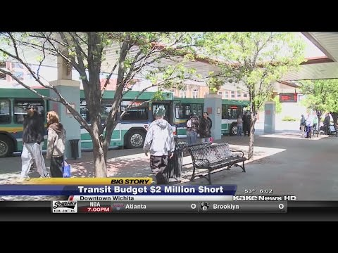 Bus ridership is increasing in Wichita
