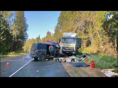 Сразу несколько серьезных ДТП произошло сегодня утром в Новгородской области