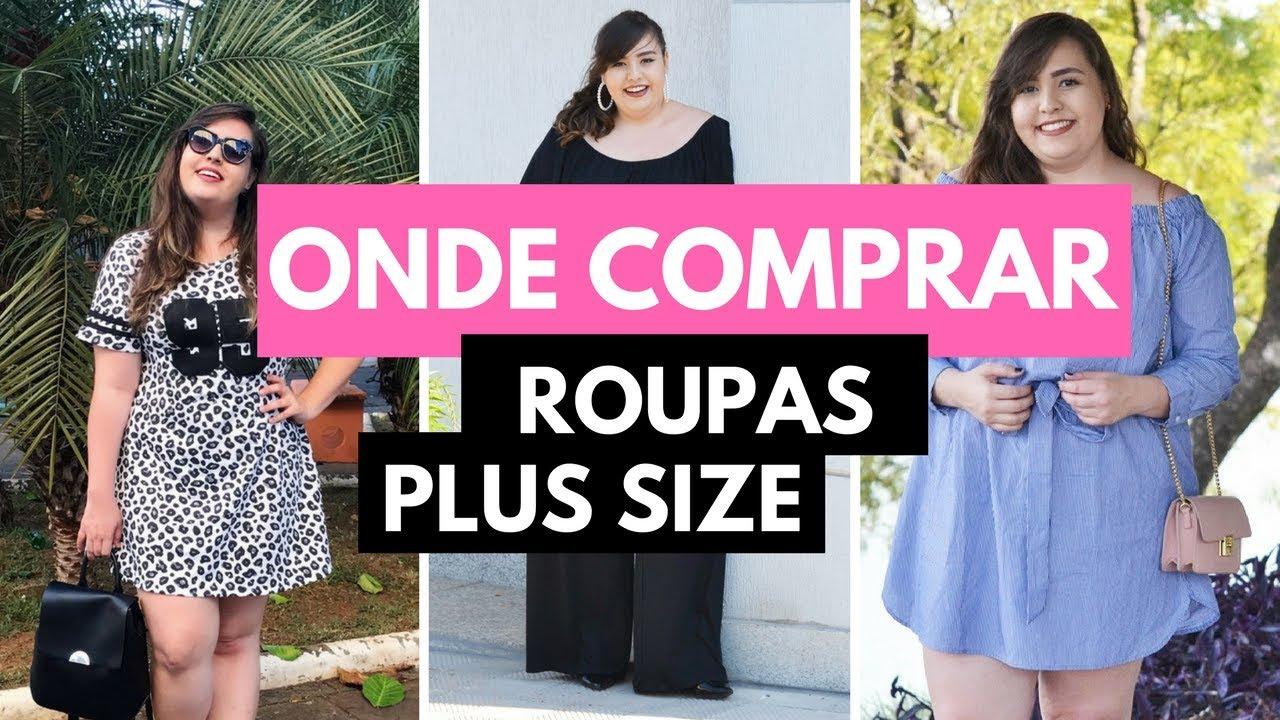 c7b58779c Onde comprar roupas Plus Size    por Ana Luiza Palhares ❤ - YouTube