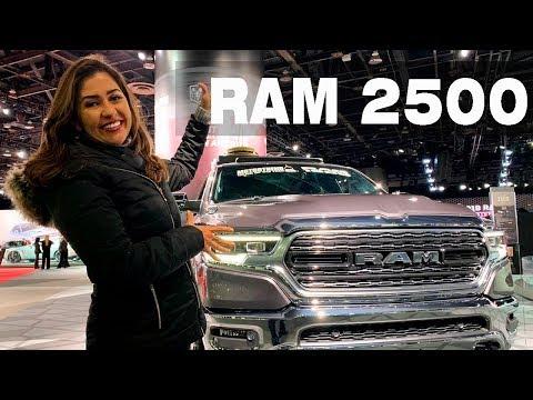 RAM 2500 confirmada pro Brasil   Salão de Detroit 2019 com Giu Brandão