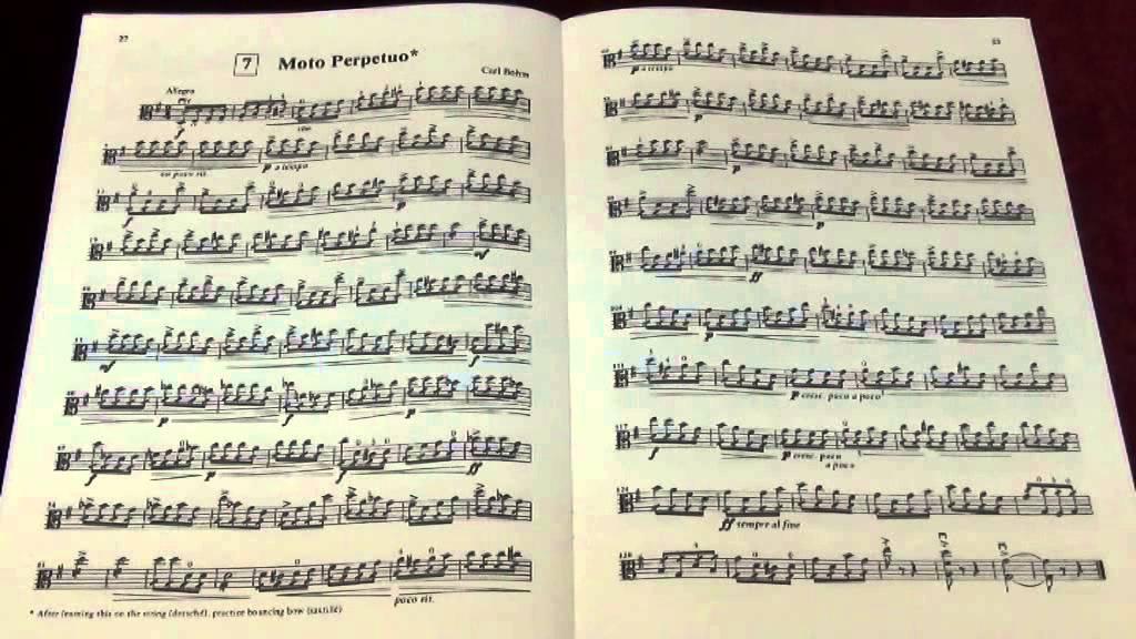 Suzuki Viola Book  Song List