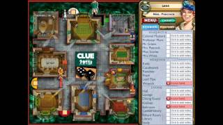 Clue Classic, Solved in first round