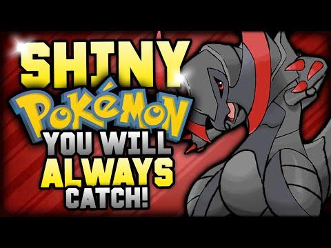 4 Shiny Pokemon You'll ALWAYS Catch!