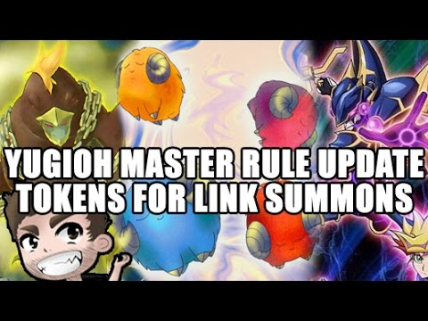 MASTER RULE UPDATE - LINK SUMMONING CAN USE TOKENS!!! GOFU & GOATS OP