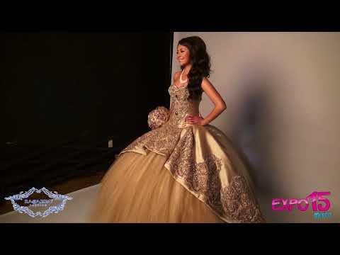 Expo 15 Precioso vestido desmontable con aplicaciones de swarovski de Ragazza Fashion