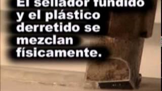 (ES) Reparacion de Plasticos - Como soldar plastico en un tanque de agua