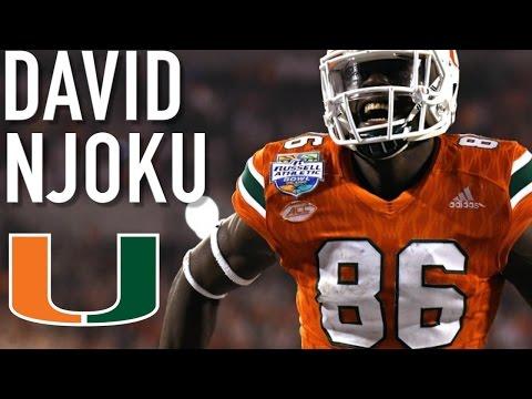 David Njoku || Future Franchise Tight End || Miami Highlights