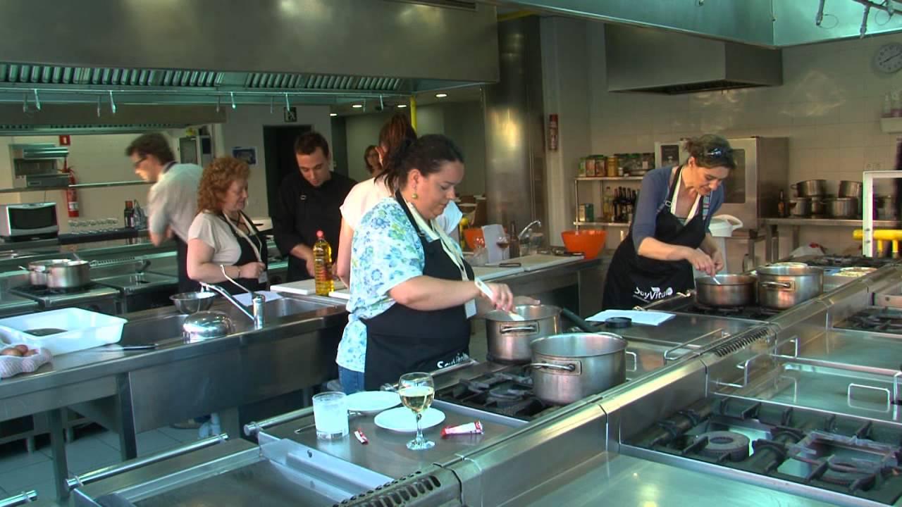 Taller de cocina soy vital barcelona youtube - Taller cocina barcelona ...