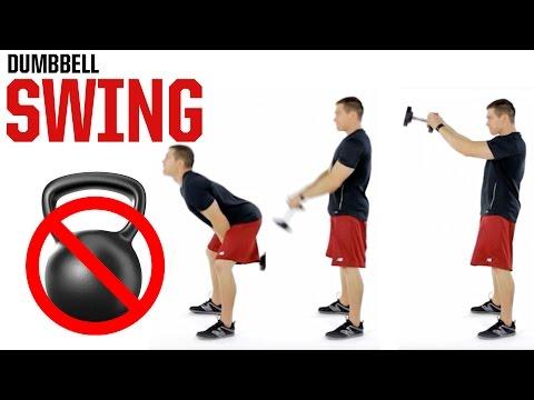 Dumbbell Swing (NO KETTLEBELL NEEDED!)
