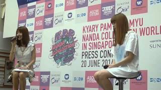 KPP Nanda Collection (Singapore) Press Con