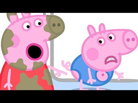 Peppa Pig Portugues Brasil El Cumpleanos De George Hd