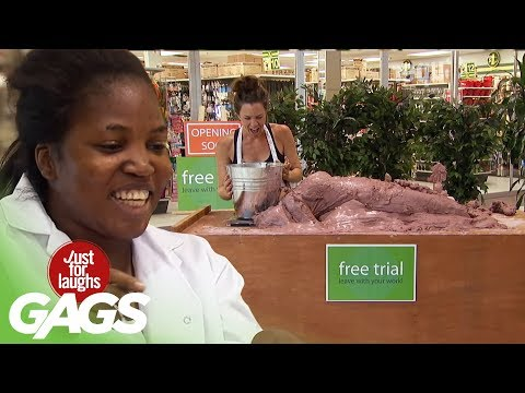 Clay Statue Comes to Life Prank - Just For Laughs Gags