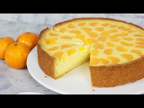 Käsekuchen mit Mandarinen - Faule Weiber Kuchen / Quarkkuchen
