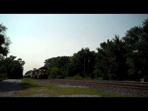 CSX  Q501 & K652  Chicago Service Lane Series (B&OCT)