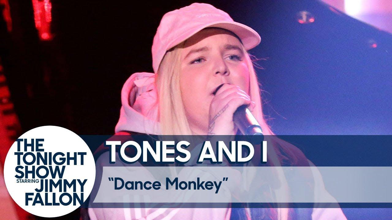 Tones And I Dance Monkey Us Tv Debut Youtube