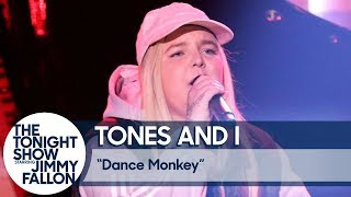 Download Mp3 Tones And I: Dance Monkey  Us Tv Debut