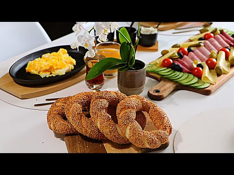 خبز-السميت-التركي-في-دقائق-بدون-اختمار-وبمكونات-جداا-بسيطة-بدون-حليب-وبدون-بيض
