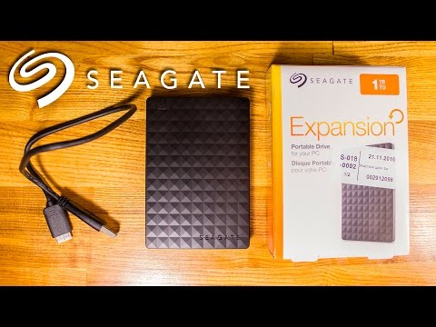 Жорсткий диск Seagate Expansion 1TB STEA1000400 2.5 USB 3.0 External Black