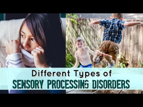 Different Types of Sensory Processing Disorders