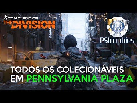 The Division - BETA: Todos os Colecionáveis em Pennsylvania Plaza