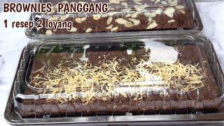 BROWNIES PANGGANG OVEN TANGKRING