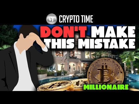 I COULD HAVE BEEN A BITCOIN MILLIONAIRE! ( DON'T MAKE THIS MISTAKE )