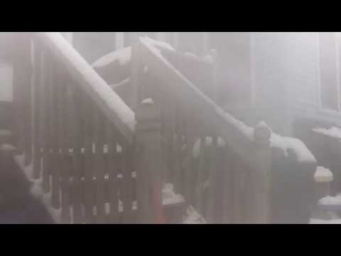 Winter Storm Gia Drops at least 1 Feet of Snow in a 2 Day timeframe full video