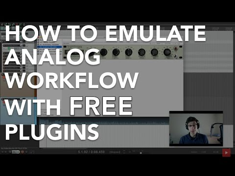 How To Emulate Analog Workflow Using FREE Plugins (Download Links In Description)
