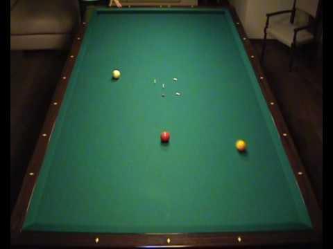 Opening Shots In Italian Billiards YouTube - Italian pool table