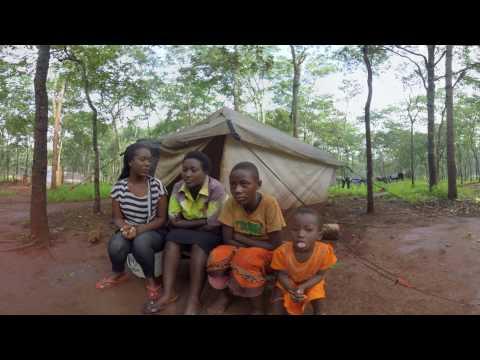 360 Grad Video: Flüchtlingslager in Tansania - Geflohen aus Burundi | Ärzte ohne Grenzen