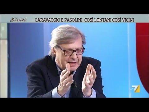 Sgarbi: 'Caravaggio e Pasolini? Andavano a cercare ragazzi di vita di sessualità anfibia'
