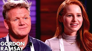 Gordon Ramsay vs Madelaine Petsch In VEGAN MASTERCHEF COOK OFF!