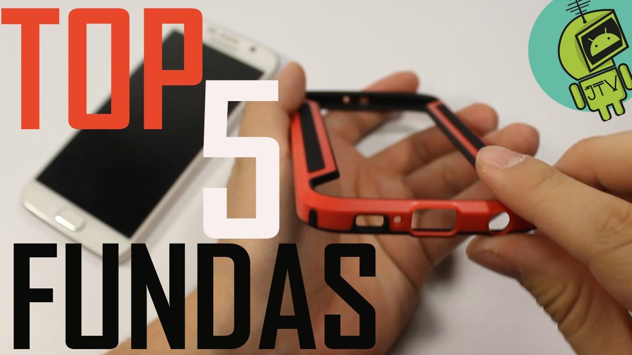 b4a53a025a1 Top 5 Mejores fundas para Samsung Galaxy S6 (Económicas) - YouTube