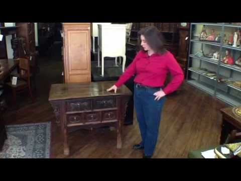 dating antique tables