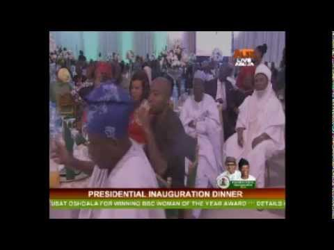 Presidential Inauguration Dinner 28th May 2015