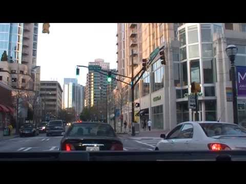 Atlanta: A drive from Downtown to Midtown