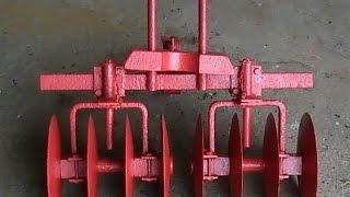 видео Самодельное навесное оборудование к мотоблоку Агат