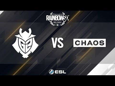 Rainbow Six Pro League - Season 8 - EU - G2 Esports vs. CHAOS - Week 11