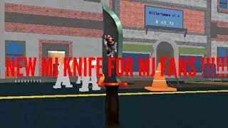 [NEW MJ KNIVES & CODES] REAL KILLER GAMES | ROBLOX