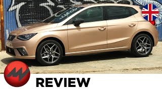 2017 Seat Ibiza Review - test drive new 1.0 liter TSI with 115 hp