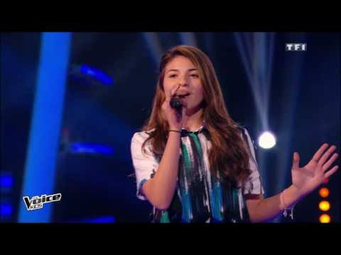 The Voice Kids 2015  Amandine, Léo et Selena  Ella, elle la France Gall  Battle