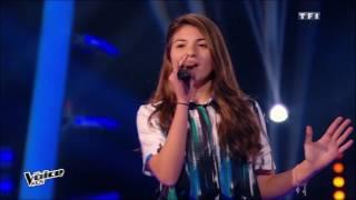 The Voice Kids 2015 | Amandine, Léo et Selena - Ella, elle l