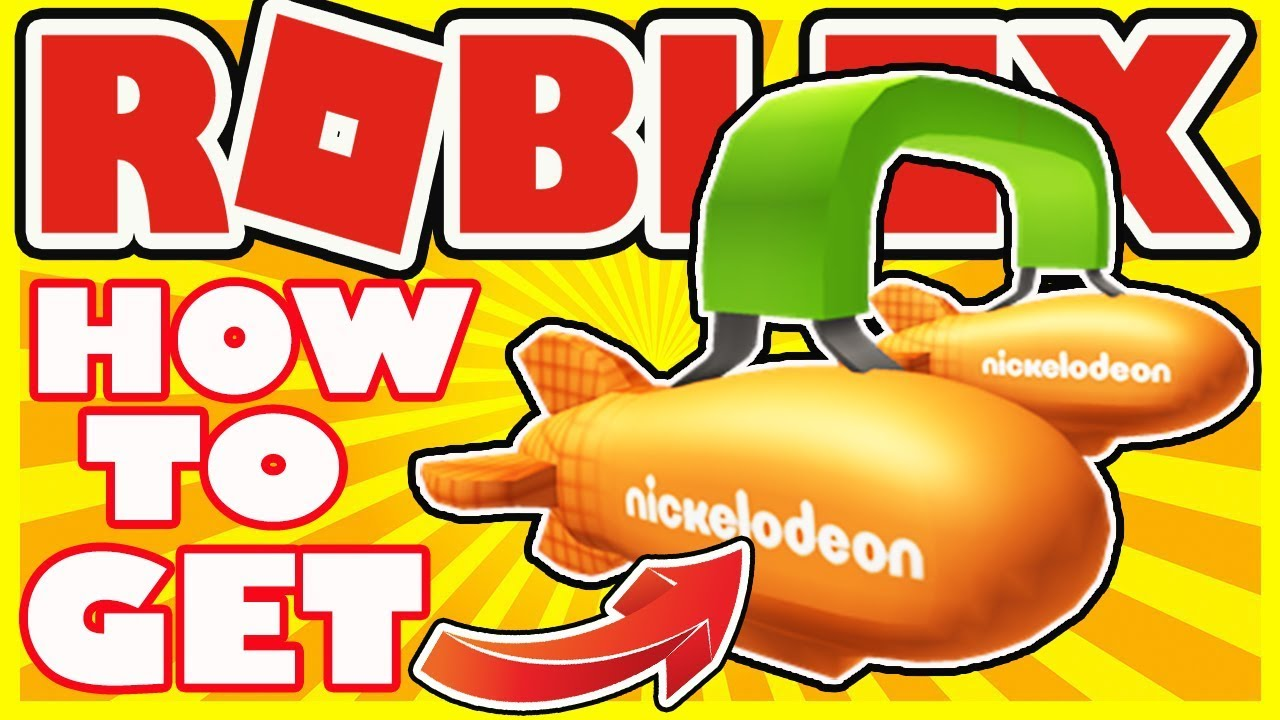 [EVENT] How To Get Blimp Headphones - Roblox Nickelodeon Kids Choice Awards Event 2018 - Free Item